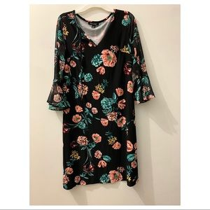 Dress Barn floral dress XS
